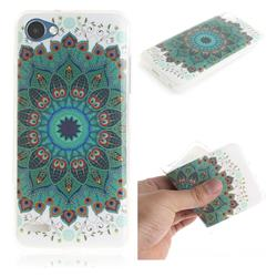 Peacock Mandala IMD Soft TPU Cell Phone Back Cover for LG Q6 (LG G6 Mini)