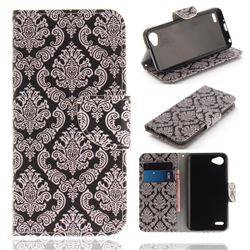 Totem Flowers PU Leather Wallet Case for LG Q6 (LG G6 Mini)