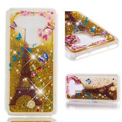 Golden Tower Dynamic Liquid Glitter Quicksand Soft TPU Case for LG Q8(2017, 5.2 inch)