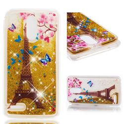 Golden Tower Dynamic Liquid Glitter Quicksand Soft TPU Case for LG Stylus 3 Stylo3 K10 Pro LS777 M400DK