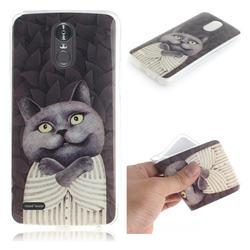 Cat Embrace IMD Soft TPU Cell Phone Back Cover for LG Stylus 3 Stylo3 K10 Pro LS777 M400DK