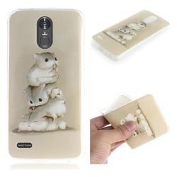 Three Squirrels IMD Soft TPU Cell Phone Back Cover for LG Stylus 3 Stylo3 K10 Pro LS777 M400DK