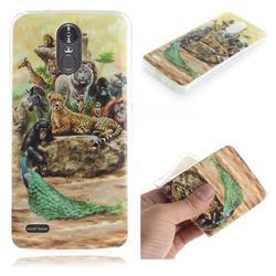 Beast Zoo IMD Soft TPU Cell Phone Back Cover for LG Stylus 3 Stylo3 K10 Pro LS777 M400DK