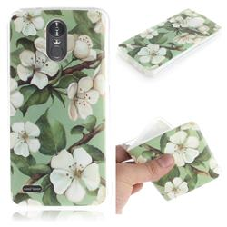 Watercolor Flower IMD Soft TPU Cell Phone Back Cover for LG Stylus 3 Stylo3 K10 Pro LS777 M400DK