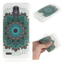 Peacock Mandala IMD Soft TPU Cell Phone Back Cover for LG Stylus 3 Stylo3 K10 Pro LS777 M400DK