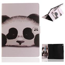 Sleeping Panda Painting Tablet Leather Wallet Flip Cover for Lenovo Tab4 10 (Lenovo TB-X304F/L)