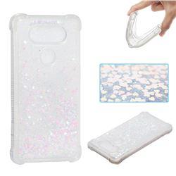 Dynamic Liquid Glitter Sand Quicksand Star TPU Case for LG V20 - Pink