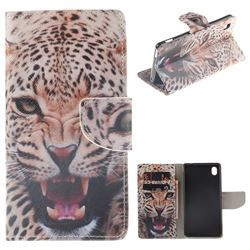 Puma PU Leather Wallet Case for Sony Xperia M4 Aqua E2303 E2333 E2353