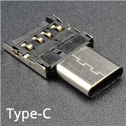 Ultra Mini USB 3.1 Type-c OTG Adapter Typec Male to USB-A Female Adapter