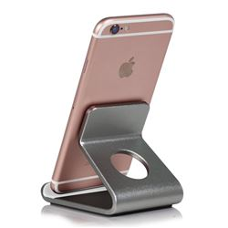 Universal Aviation Aluminum Alloy Mobile Phone Holder - Gray