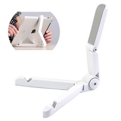 Portable Stand Fold up Holder Stander for iPad Tablet Samsung Tabs - White