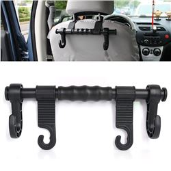 Multi-functional Car Vehicle Seat Headrest Bag Hanger Seat Dual Hook Hanging Holder