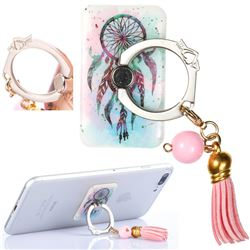 Universal 360 Rotation Stylish Holder Finger Ring Kickstand with Tassel for Mobile Phone Folding - ColorDrops Wind Chimes