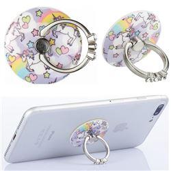 Flexible Universal 360 Rotation Stylish Holder Finger Ring Kickstand for Mobile Phone Folding - Angel Horse