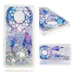 Fantasy Wind Chimes Dynamic Liquid Glitter Quicksand Soft TPU Case for Motorola Moto E4 Plus(Europe)