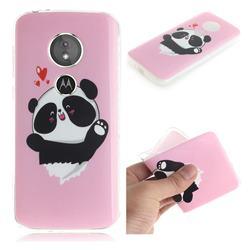 Heart Cat IMD Soft TPU Cell Phone Back Cover for Motorola Moto E5