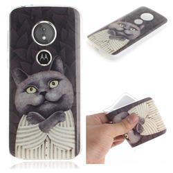 Cat Embrace IMD Soft TPU Cell Phone Back Cover for Motorola Moto E5