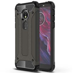 King Kong Armor Premium Shockproof Dual Layer Rugged Hard Cover for Motorola Moto E5 - Bronze