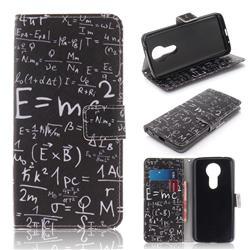 Formula PU Leather Wallet Case for Motorola Moto E5