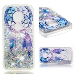 Fantasy Wind Chimes Dynamic Liquid Glitter Quicksand Soft TPU Case for Motorola Moto E5 Plus