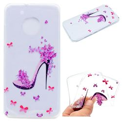 Petal High Heels Super Clear Soft TPU Back Cover for Motorola Moto G5