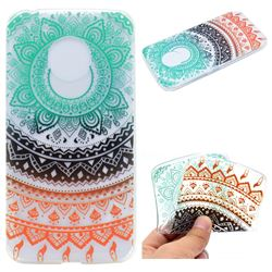Tribe Flower Super Clear Soft TPU Back Cover for Motorola Moto G5