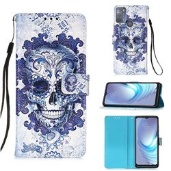 Cloud Kito 3D Painted Leather Wallet Case for Motorola Moto G50