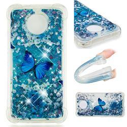 Flower Butterfly Dynamic Liquid Glitter Sand Quicksand Star TPU Case for Motorola Moto G5S