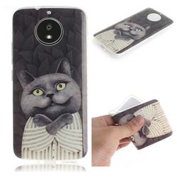 Cat Embrace IMD Soft TPU Cell Phone Back Cover for Motorola Moto G5S