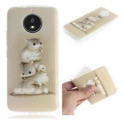 Three Squirrels IMD Soft TPU Cell Phone Back Cover for Motorola Moto G5S
