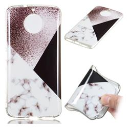 Black white Grey Soft TPU Marble Pattern Phone Case for Motorola Moto G5S