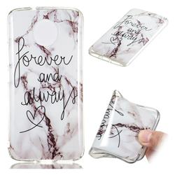 Forever Soft TPU Marble Pattern Phone Case for Motorola Moto G5S