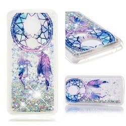 Fantasy Wind Chimes Dynamic Liquid Glitter Quicksand Soft TPU Case for Motorola Moto G5S Plus
