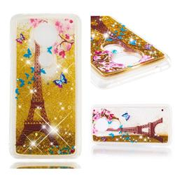 Golden Tower Dynamic Liquid Glitter Quicksand Soft TPU Case for Motorola Moto G5S Plus