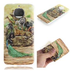 Beast Zoo IMD Soft TPU Cell Phone Back Cover for Motorola Moto G5S Plus
