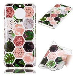 Rainforest Soft TPU Marble Pattern Phone Case for Motorola Moto G5S Plus