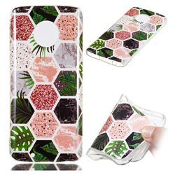 Rainforest Soft TPU Marble Pattern Phone Case for Motorola Moto G6