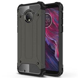 King Kong Armor Premium Shockproof Dual Layer Rugged Hard Cover for Motorola Moto G6 - Bronze