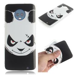 Angry Bear IMD Soft TPU Cell Phone Back Cover for Motorola Moto G6 Plus G6Plus