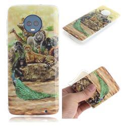 Beast Zoo IMD Soft TPU Cell Phone Back Cover for Motorola Moto G6 Plus G6Plus