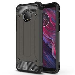 King Kong Armor Premium Shockproof Dual Layer Rugged Hard Cover for Motorola Moto G6 Plus G6Plus - Bronze