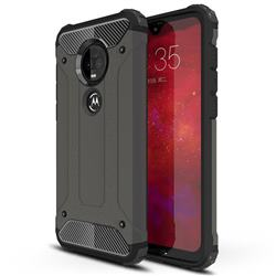 King Kong Armor Premium Shockproof Dual Layer Rugged Hard Cover for Motorola Moto G7 / G7 Plus - Bronze