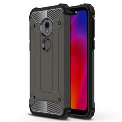 King Kong Armor Premium Shockproof Dual Layer Rugged Hard Cover for Motorola Moto G7 Play - Bronze