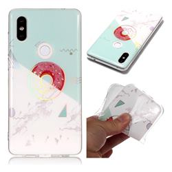 Donuts Marble Pattern Bright Color Laser Soft TPU Case for Xiaomi Mi Mix 2S