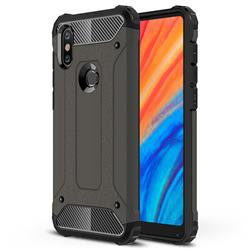 King Kong Armor Premium Shockproof Dual Layer Rugged Hard Cover for Xiaomi Mi Mix 2S - Bronze