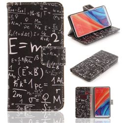 Formula PU Leather Wallet Case for Xiaomi Mi Mix 2S
