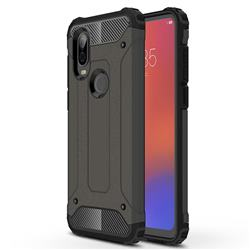 King Kong Armor Premium Shockproof Dual Layer Rugged Hard Cover for Motorola Moto P40 - Bronze