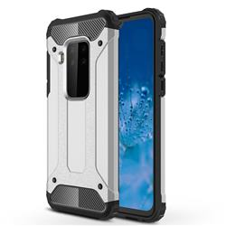 King Kong Armor Premium Shockproof Dual Layer Rugged Hard Cover for Motorola Moto P40 Note - White