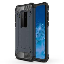 King Kong Armor Premium Shockproof Dual Layer Rugged Hard Cover for Motorola Moto P40 Note - Navy