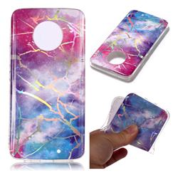 Dream Sky Marble Pattern Bright Color Laser Soft TPU Case for Motorola Moto X4 (4th gen.)